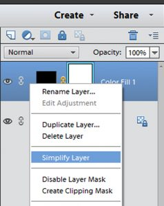 Simplify Layer