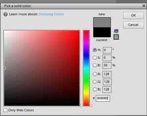 Solid Colour Picker