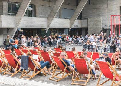 Relaxing On The South Bank-Loz Waterson