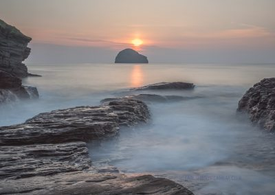 2 Sunset Over Gull Rock-Steve Bexon