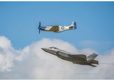 21 P51 & F35B At Riat-Loz Waterson