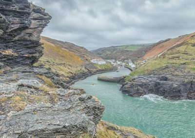 Boscastle From Penally Point-Steve Bexon