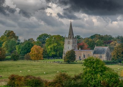 2 Autumn Colour All Saints Peatling Parva-Gary Wood