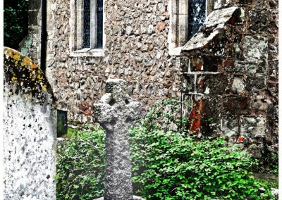30 A Bit Neglected Round The Back Stapleton Church-Geoff Whitelocks