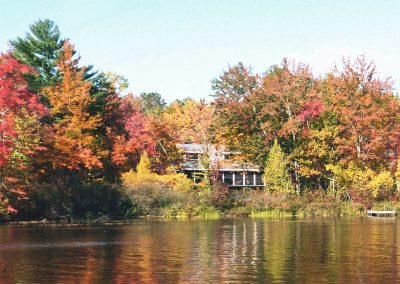 31 Lake House In The Autumn-Geoff Whitelocks