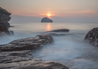 Sunset Over Gull Rock-Steve Bexon
