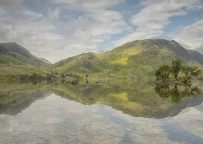 15 Crummock Water Reflections-Trish Rudin