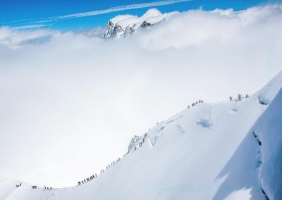 7 Leaving Mont Blanc-Peter Lawrance