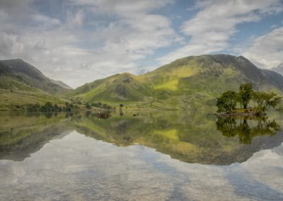 Crummock Water Reflections-Trish Rudin