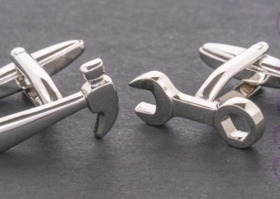 33 (14) Cuff Links-Loz Waterson - 18.13