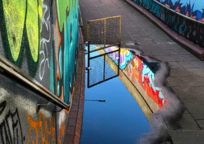25 Graffiti Reflection