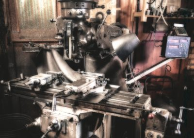 Milling Machine-Paul Steans