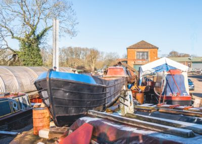 The Boat Repair Yard-Loz Waterson