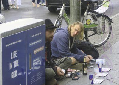Begging In Berlin-Roger Leck