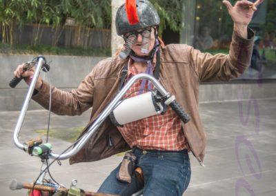 Crazy Cyclist-John Langham