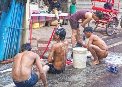 Delhi Street Shower-Steve Pears