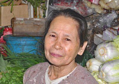 Vegetable Stall Holder Vietnam-Geoff Whitelocks
