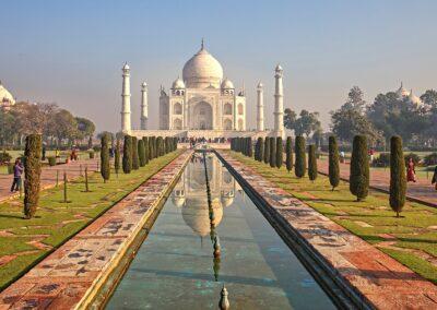08 Early Morning at the Taj Mahal