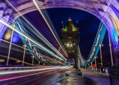 24 Nightime On Tower Bridge