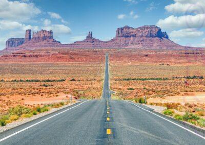 Driving On Us Route 163-Steve Bexon