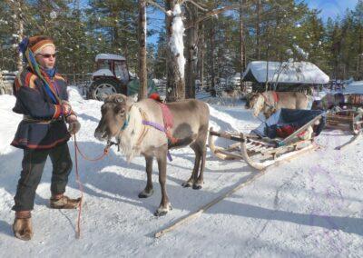 Sami Reindeer Herder-Debbie Lowe