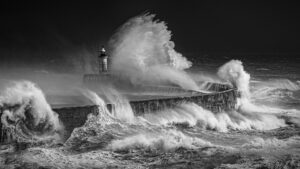 Newhaven Storm by Isobel Chesterman